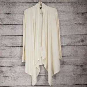 LAUREN Ralph Lauren XL Draped Open Front Cardigan